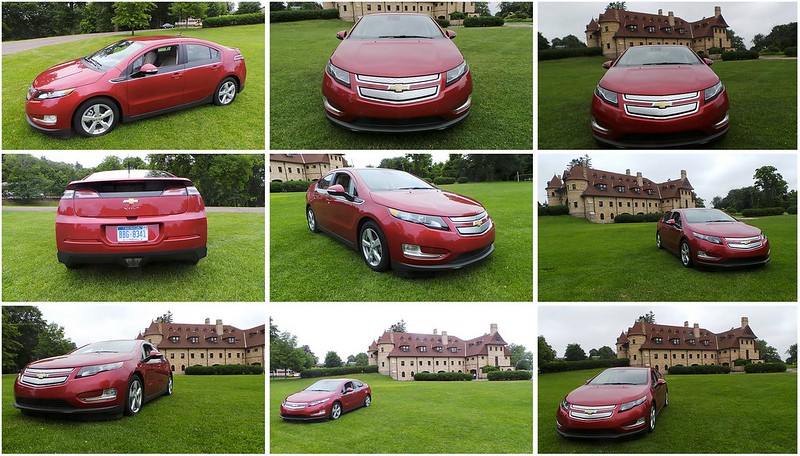 Chevy Volt Photo Shoot at Lars Anderson Auto Museum