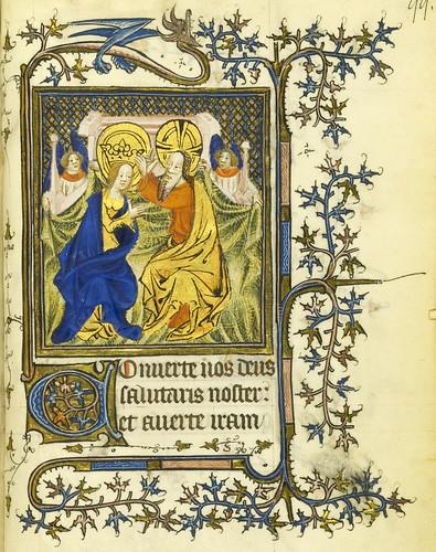 015-Horae Beatae Virginis Mariae…99r- Biblioteca Nacional de Varsovia