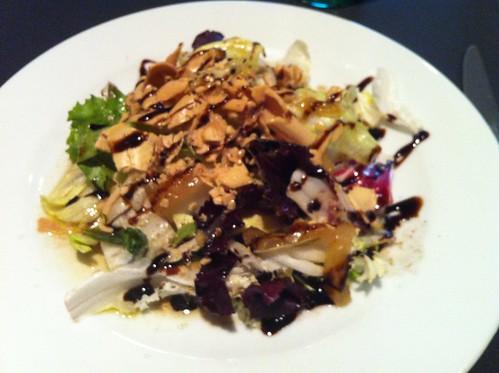 Barcelona | DOP Restaurant | Ensalada con virutas de foie