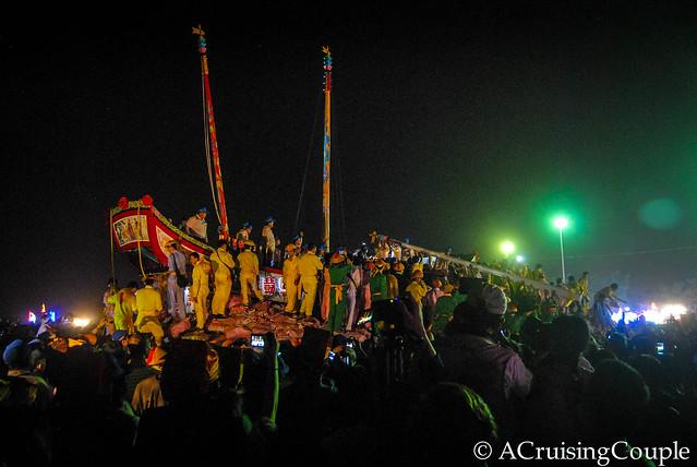Burning Boat Festival Taiwan Mast-3
