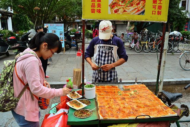 Street tofu cart
