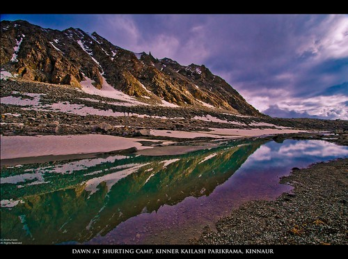 Dawn at Shurting Camp, Charang La, Kinnaur, Himachal Pradesh