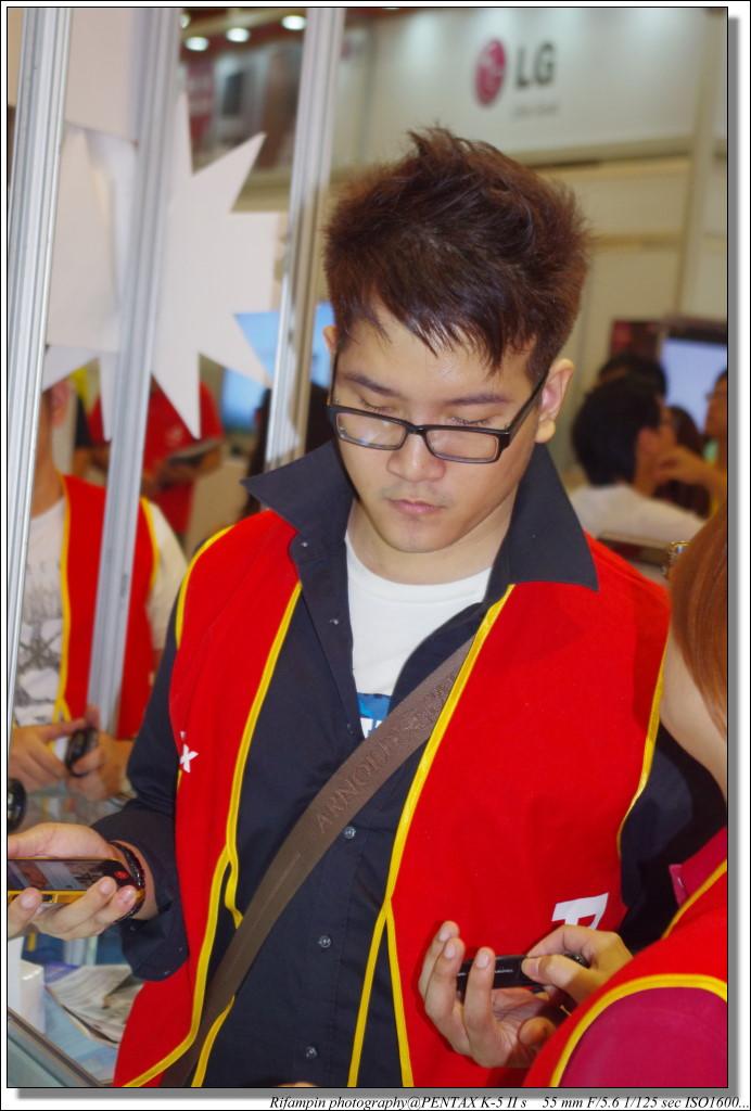 台北電腦應用展-旅遊鏡兩張流
