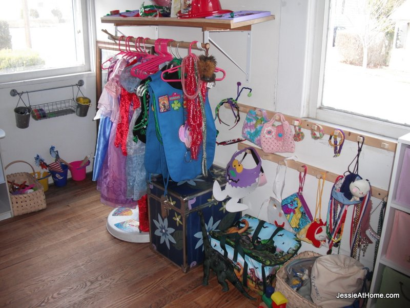 Dress-up-area