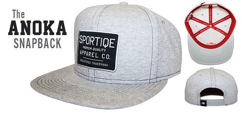 Sportiqe Anoka Snapback Hat