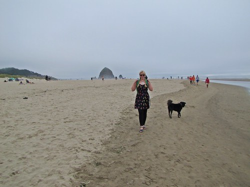 Liz and BC at Cannon Beach