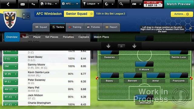 Football Manager Classic 2014 Screenshot
