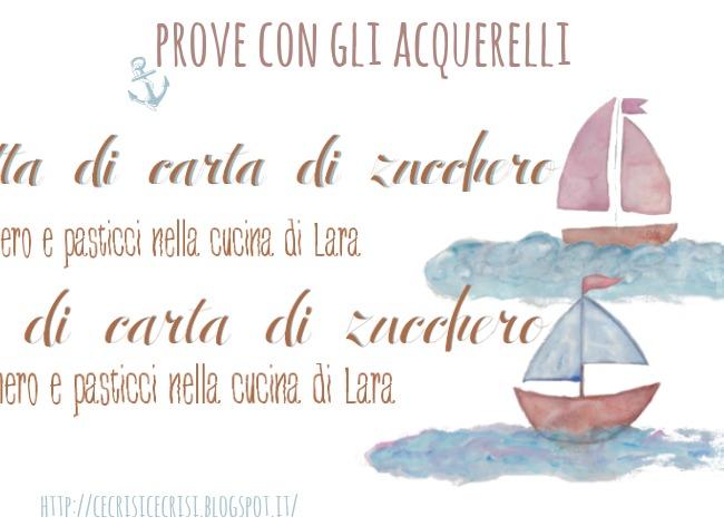 prove con gli acquerelli, blog design by alex bonetto