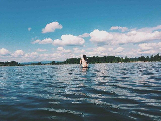 sauvie island summer