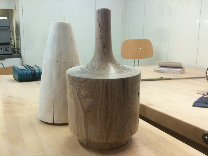 Two Highbridge Lamps