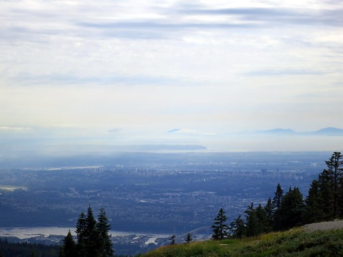 Burnaby and the Lower Mainland from Grouse Mountain