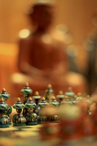 Buda y ajedrez