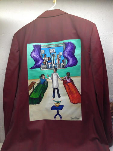 """Picket Line"" a jacket for Steven F. Horowitz"