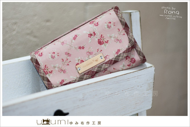 玫瑰防水布存摺包1