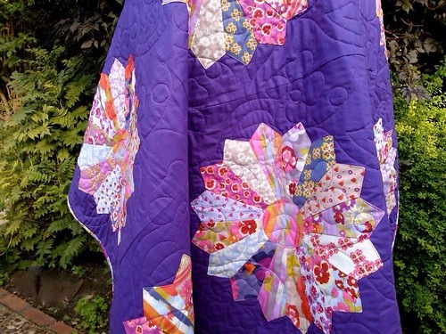 Nel Whatmore secret garden quilt