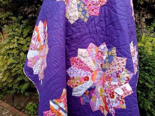 Nel Whatmore secret garden quilt