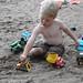 Sandy sandy sandy.  Working hard! by elliottmagwood