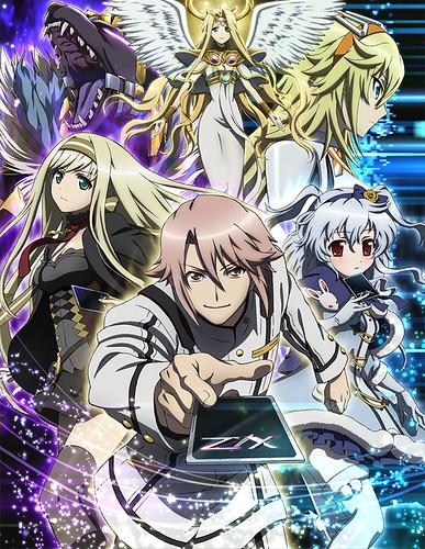 130917(3) - 卡片遊戲『Z/X』將在2014年1月開播電視動畫《Z/X IGNITION》、五大世界主角一同亮相!