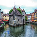 The Stunning Palais de l'Ile in Annecy, France by ` Toshio '
