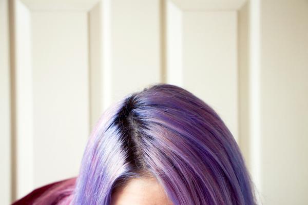 Sparklyvodka Bleach London Super Cool Colours Parma Violets