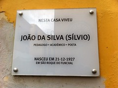 Photo of João da Silva white plaque