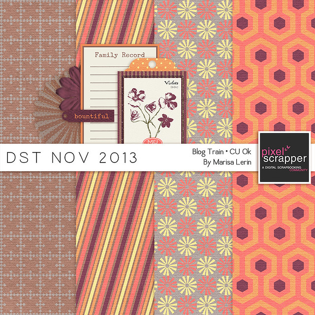 DST November 2013 Blog Train by Marisa Lerin