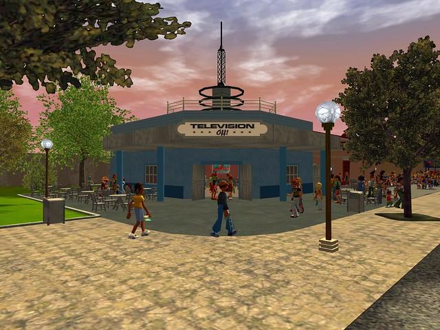Miramar Studios Park - Television Off