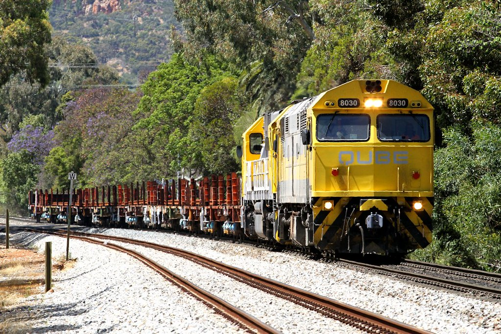 8030 GML10 ARTC Rail Train Hawthorn 03 11 2013 by Daven Walters
