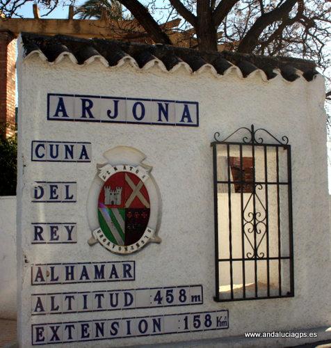 Jaén - Arjona - Al-Ahmar - 37 56' 15 -4 3' 50