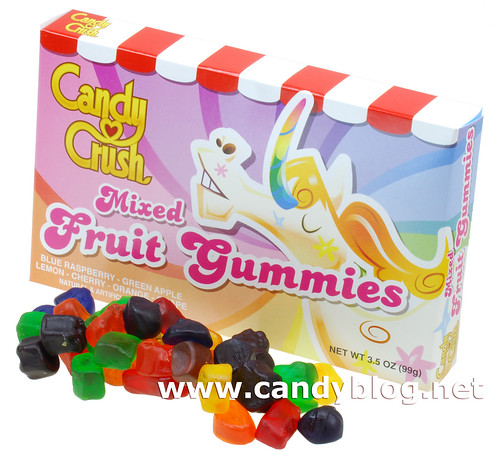 Candy Crush Mixed Fruit Gummies