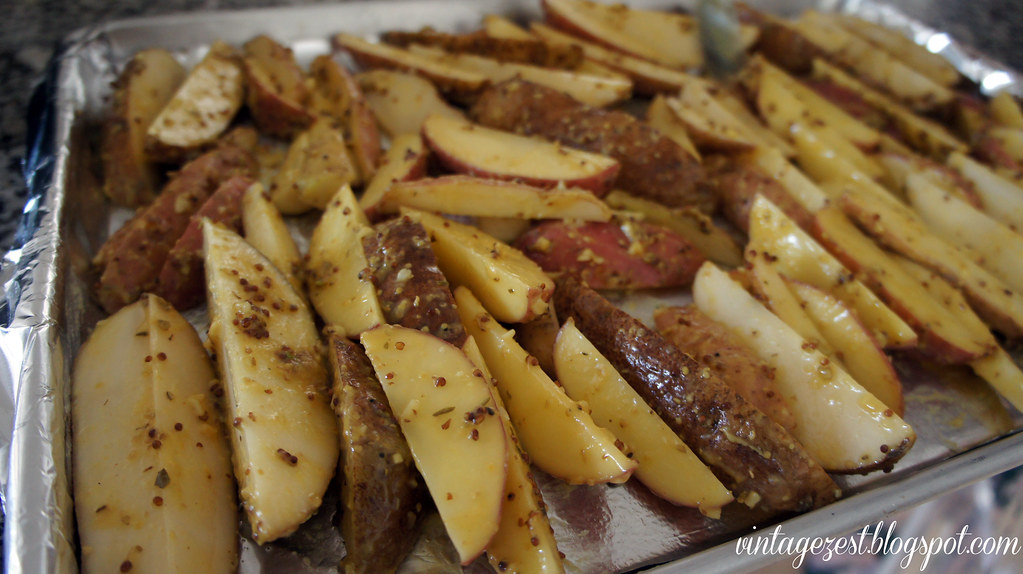 Mustard-Roasted Potatoes 6