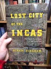 """Lost City of the Incas"", typeset in City"