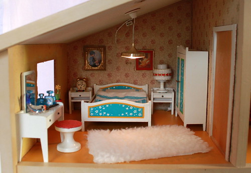 Lundby Schlafzimmer - bed room