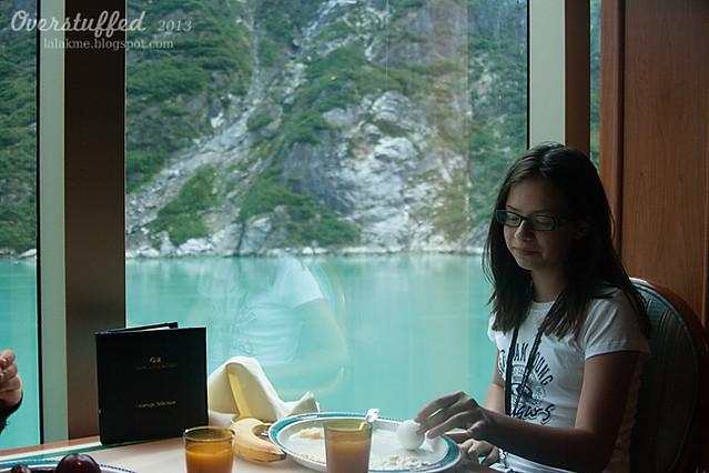 Bria's cruise ship breakfast