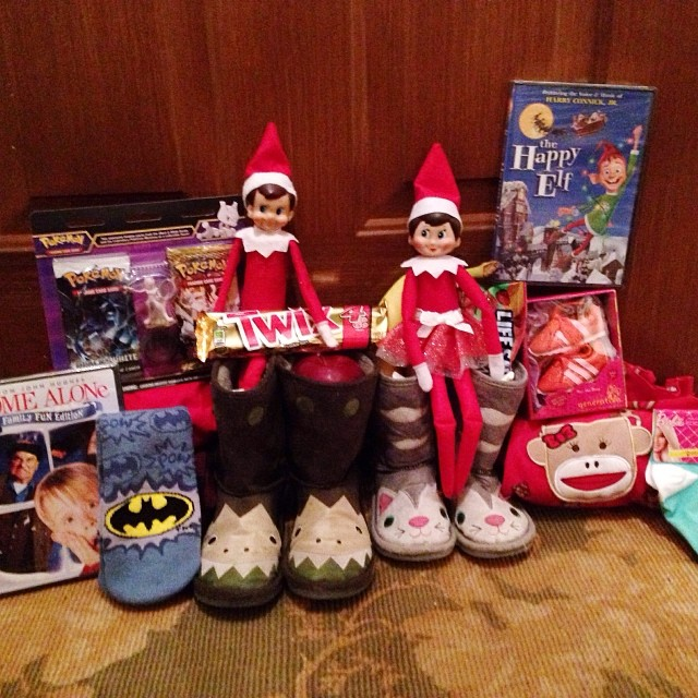 Did you put out your shoes/boots for St. Nick tonight? He brought lots of goodies for Nathan and Autumn. This is always when they get their Christmas PJ's and socks, new Christmas movies for our collection and other small gifts. Did you know Home Alone is
