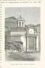 """British Library digitised image from page 531 of """"Rome. Description et souvenirs ... Ouvrage contenant 346 gravures sur bois ... et un plan de Rome"""""""