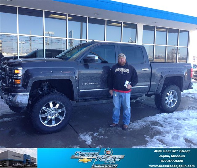 Jones Cadillac: Thank You To Jeremy Jones On Your New 2014 #Chevrolet #Silverado 1500 From Phillip Burnette And
