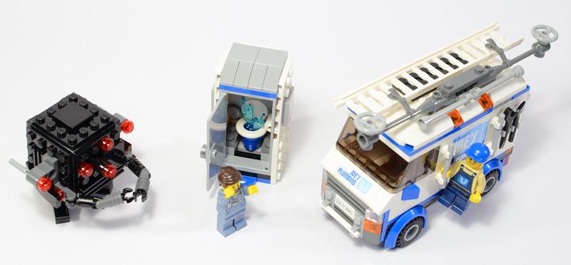 Boris Bricks Lego Movie 70811 The Flying Flusher Review
