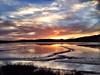 Tidal Plane Sunset