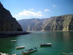 Veduta del Musandam - Oman