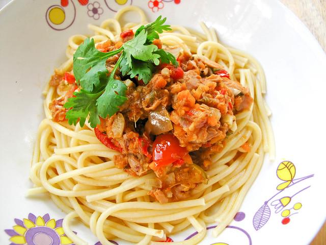 IMG_1369 Chilli tuna spaghetti