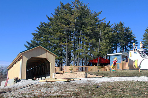 New tunnel at Holidog Express