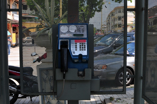 Penang pay phone