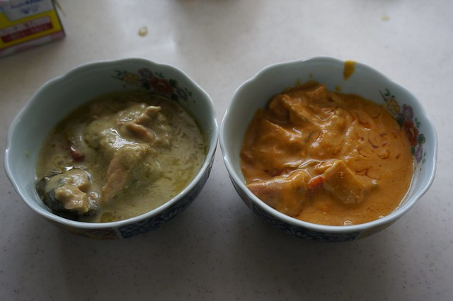 Gaeng Green and Red