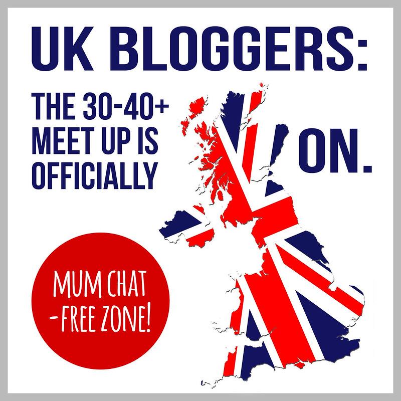 UK 30-40+ Blogger Meet Up 2014