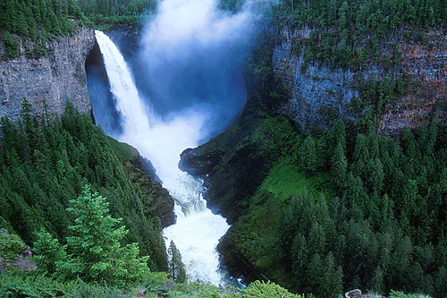 Helmcken Falls, Wells Gray Provincial Park, Clearwater, North Thompson, British Columbia, Canada