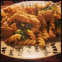 Epic Cajun chicken pasta for dinner...