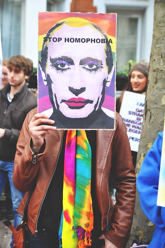 Stop Homophobia - NUS Sports Gay Protests, London