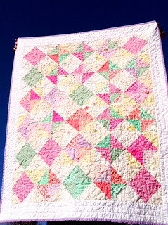 Diamond Posy Quilt