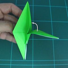 วิธีพับกระดาษเป็นจรวด X-WING สตาร์วอร์ (Origami X-WING) 022